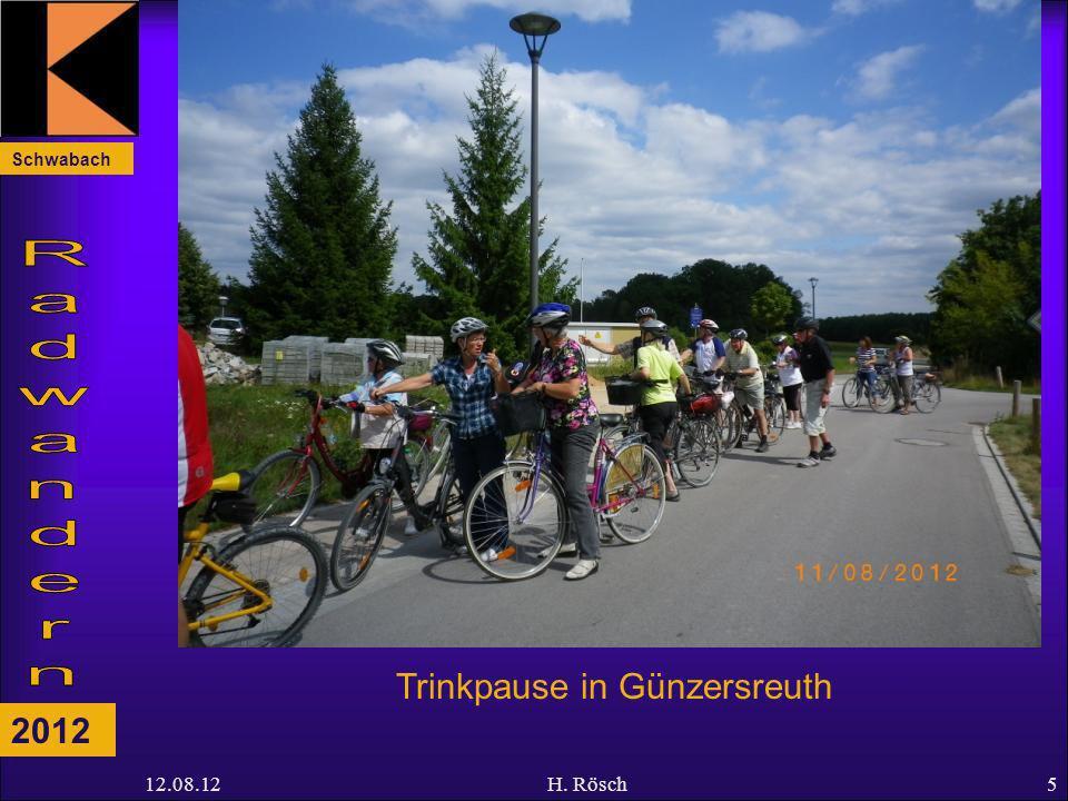 Schwabach 2012 12.08.12H. Rösch5 Trinkpause in Günzersreuth