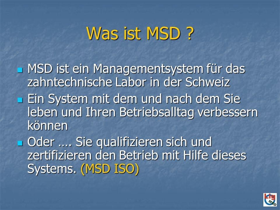 Was ist MSD .