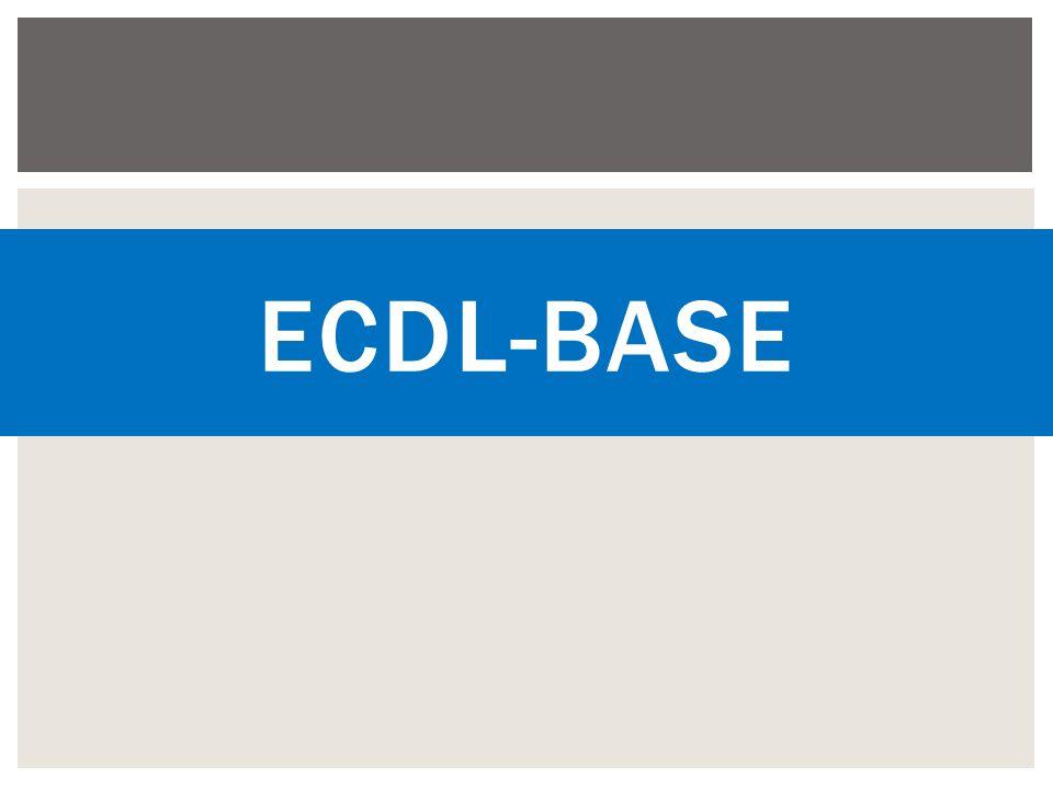 ECDL-BASE
