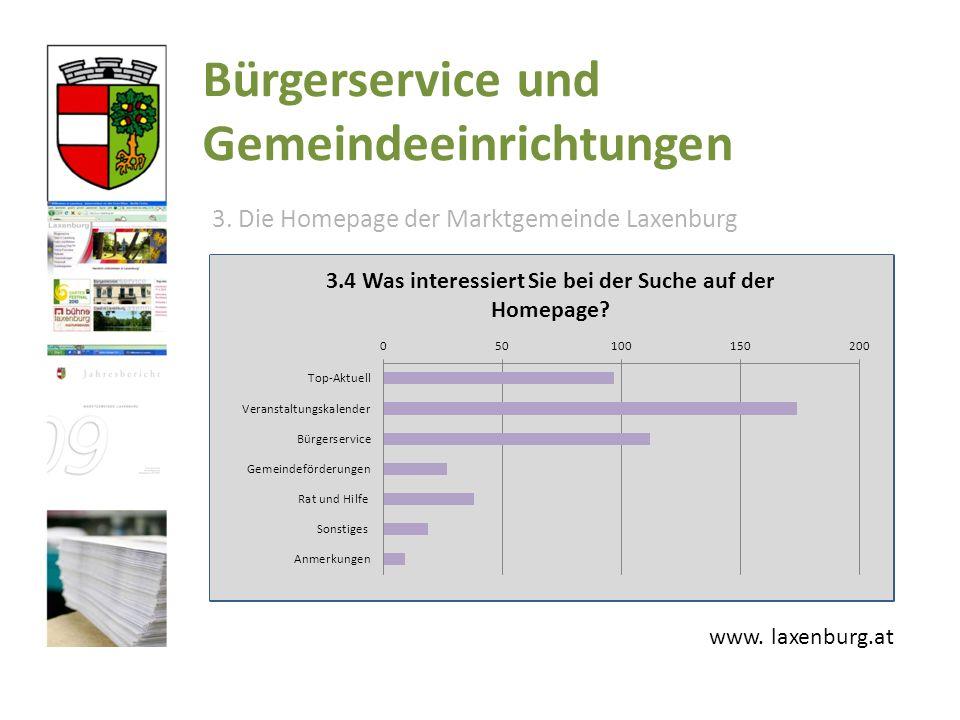 Bürgerservice und Gemeindeeinrichtungen www. laxenburg.at 3.