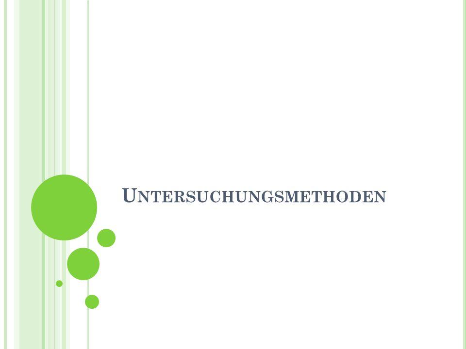 G LIEDERUNG Methoden Unser Fragebogen Probleme/Kritik