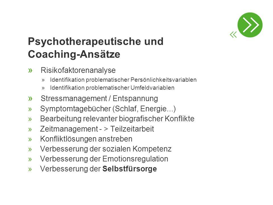 Psychotherapeutische und Coaching-Ansätze » Risikofaktorenanalyse »Identifikation problematischer Persönlichkeitsvariablen »Identifikation problematis
