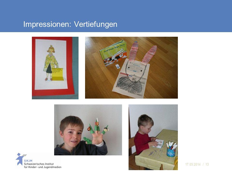 17.05.2014 / 13 Impressionen: Vertiefungen