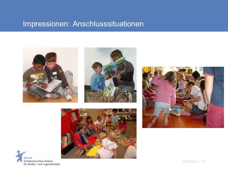17.05.2014 / 15 Impressionen: Anschlusssituationen