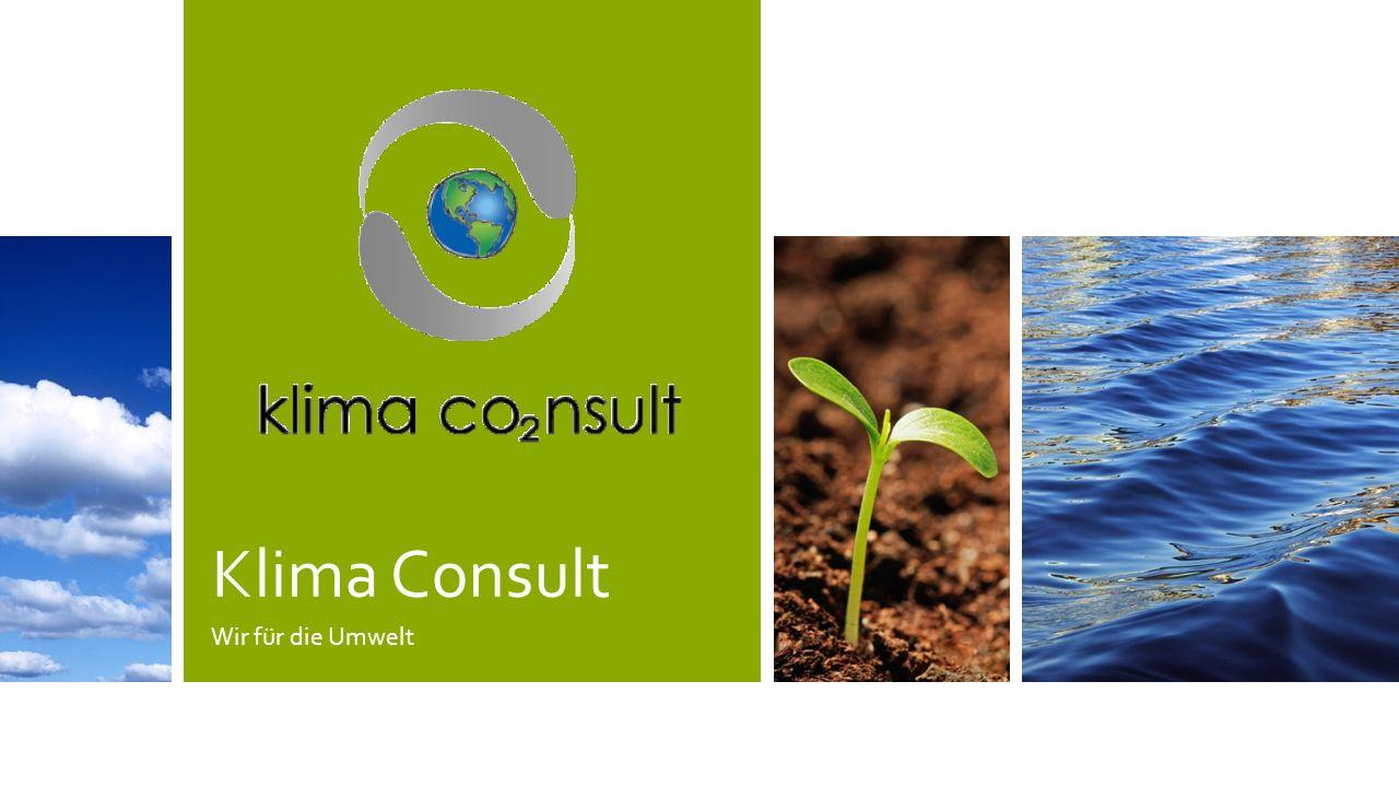 Klima Consult Wir für die Umwelt