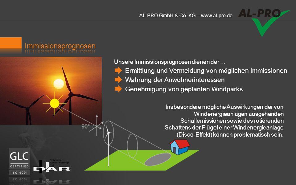 AL-PRO GmbH & Co. KG – www.al-pro.de LIDAR ist der Schlüssel für Windprofilmessungen bis in große Höhen. Mit Hilfe von Laserstrahlen wird der Wind bis