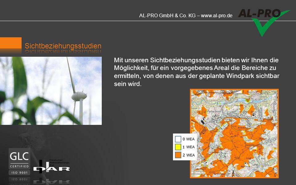 AL-PRO GmbH & Co. KG – www.al-pro.de Professionelle, überzeugende Visualisierungen (Fotomontagen) sind mittlerweile ein selbstverständlicher Bestandte