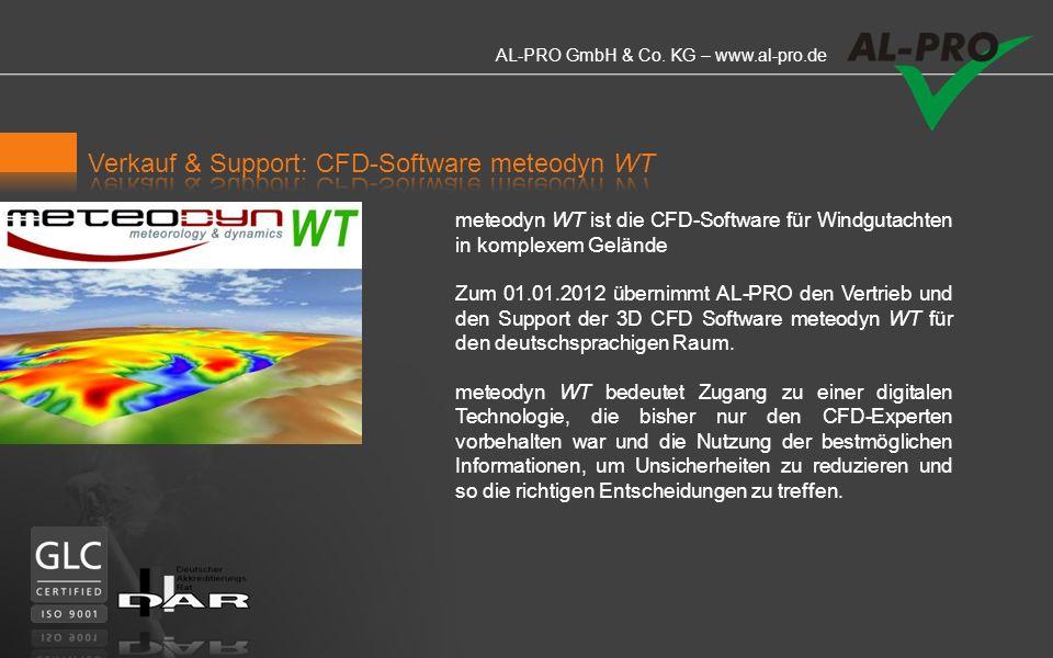 AL-PRO GmbH & Co. KG – www.al-pro.de Die Firma AL-PRO erstellt Windkarten nahezu weltweit in verschiedenen Auflösungen und Höhen. Erstellung von regio