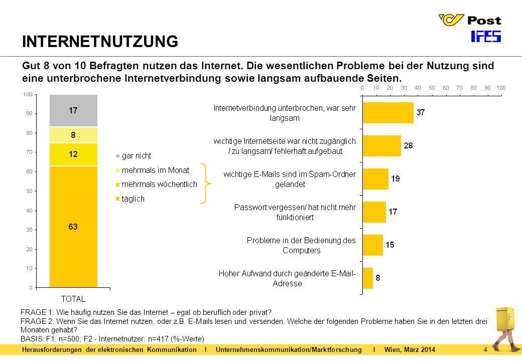 5 RECHNUNGSPRÄFERENZ Herausforderungen der elektronischen Kommunikation I Unternehmenskommunikation/Marktforschung I Wien, März 2014 FRAGE 3: Was ist Ihnen ganz allgemein lieber.