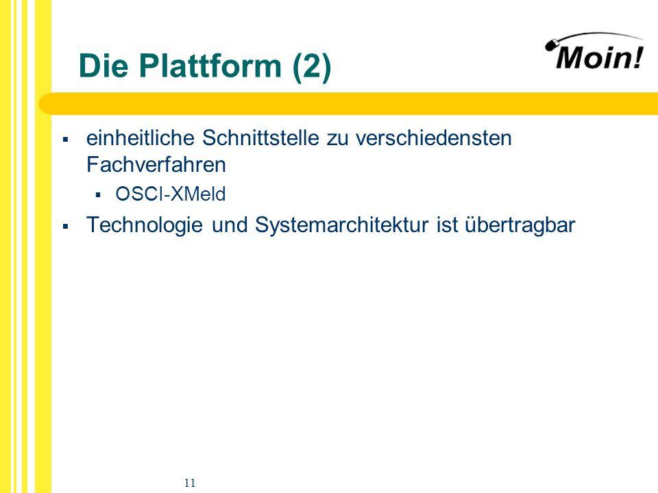 12 Vortragsgliederung Projektidee Projektbeteiligte Plattform Geschäftsvorfälle EWO-Fachverfahren Technische Basis Zeitplan