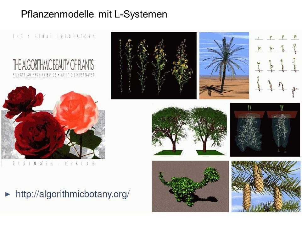 Pflanzenmodelle mit L-Systemen