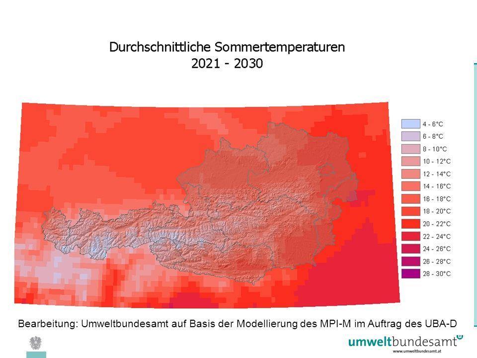 08.04.2005 | Folie 15 Bearbeitung: Umweltbundesamt auf Basis der Modellierung des MPI-M im Auftrag des UBA-D