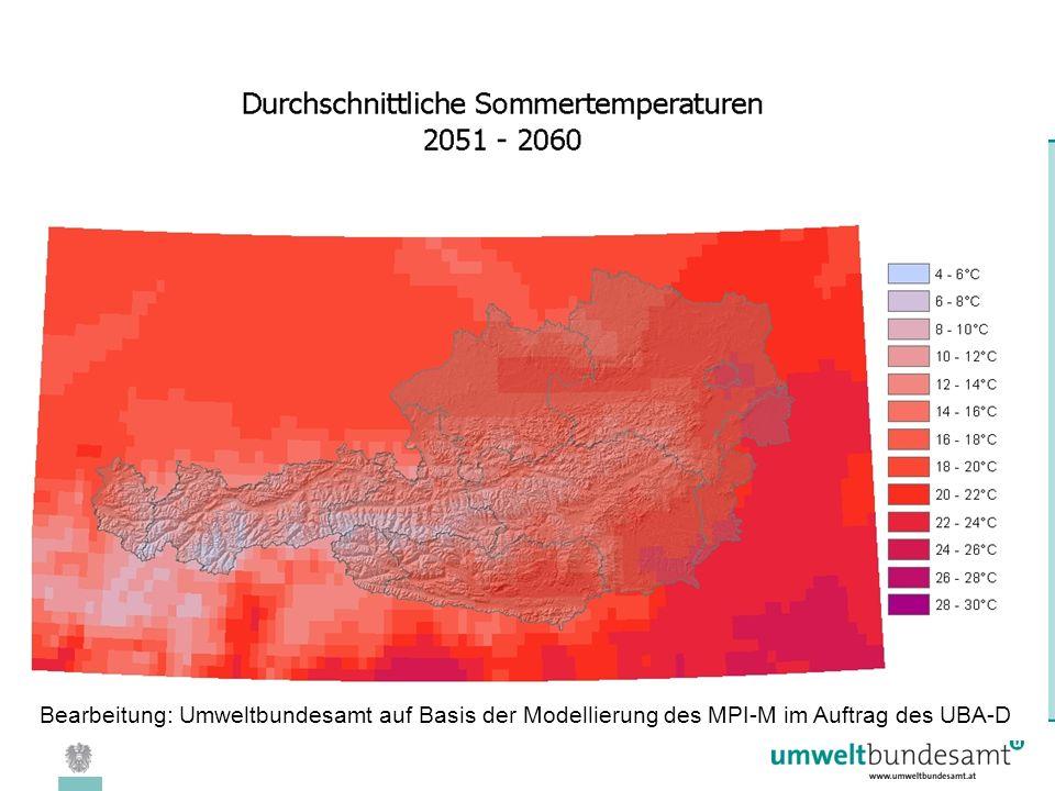 08.04.2005 | Folie 18 Bearbeitung: Umweltbundesamt auf Basis der Modellierung des MPI-M im Auftrag des UBA-D