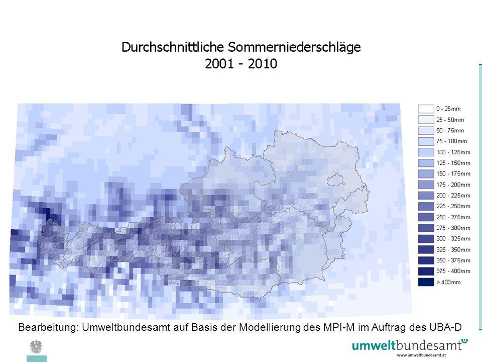 08.04.2005 | Folie 24 Bearbeitung: Umweltbundesamt auf Basis der Modellierung des MPI-M im Auftrag des UBA-D