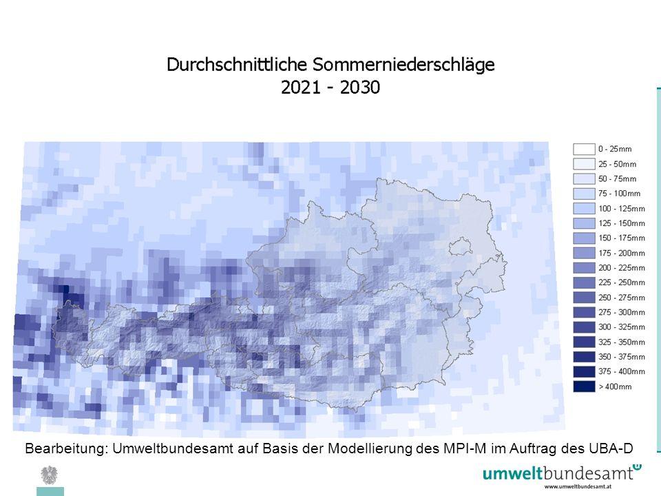 08.04.2005 | Folie 26 Bearbeitung: Umweltbundesamt auf Basis der Modellierung des MPI-M im Auftrag des UBA-D