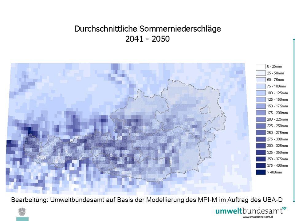 08.04.2005 | Folie 28 Bearbeitung: Umweltbundesamt auf Basis der Modellierung des MPI-M im Auftrag des UBA-D