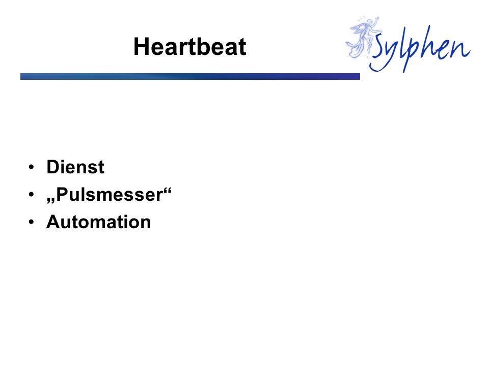 Heartbeat Dienst Pulsmesser Automation