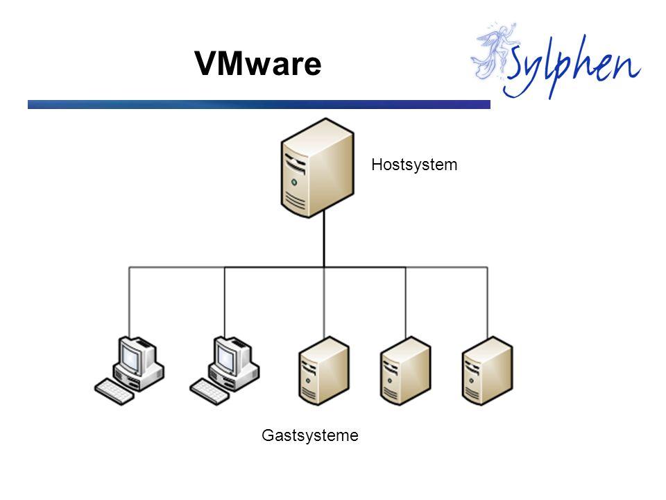 VMware Hostsystem Gastsysteme