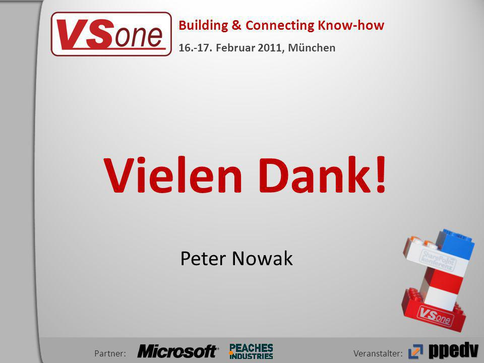 Veranstalter: Building & Connecting Know-how 16.-17.