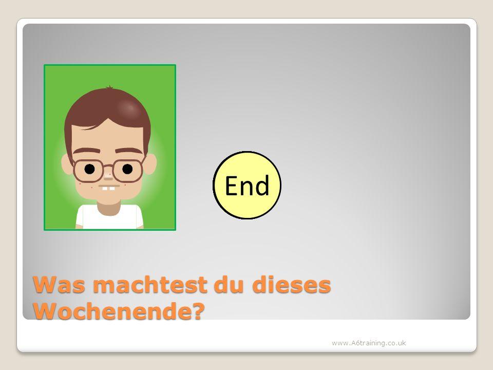 Sprechen: Besser als ein Deutsch 1 Schüler? 10 Secunden mit dem Partner
