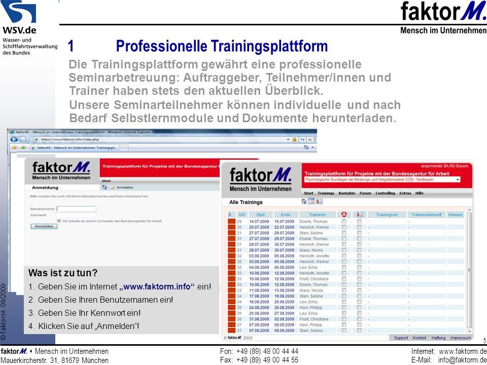 Fon:+49 (89) 49 00 44 44 Fax:+49 (89) 49 00 44 55 Internet:www.faktorm.de E-Mail:info@faktorm.de Mauerkircherstr.