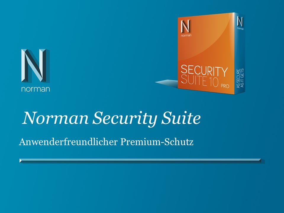 Norman Security Suite Anwenderfreundlicher Premium-Schutz