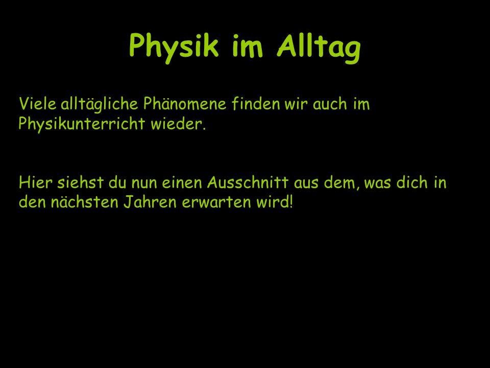 Physik im Alltag Wie entsteht ein Regenbogen.