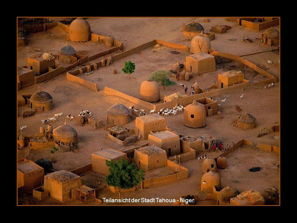 Teilansicht der Stadt Tahoua - Niger