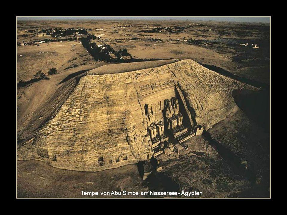 Tempel von Abu Simbel am Nassersee - Ägypten