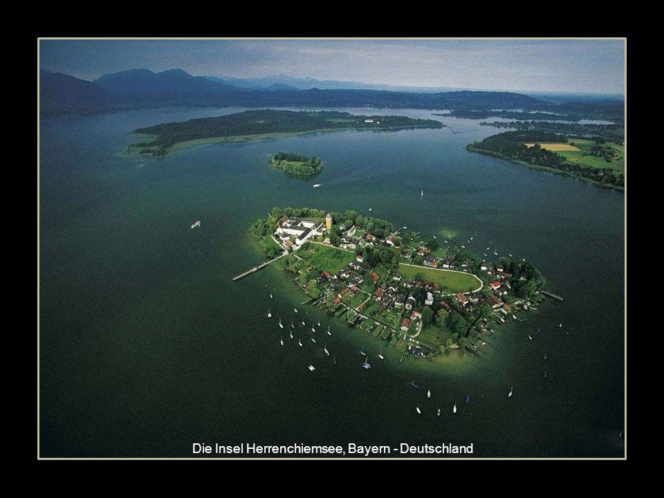 Die Insel Herrenchiemsee, Bayern - Deutschland