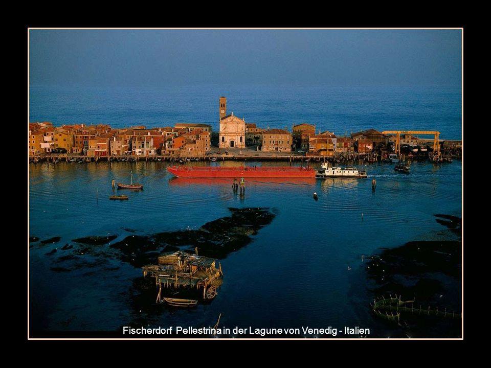 Fischerdorf Pellestrina in der Lagune von Venedig - Italien