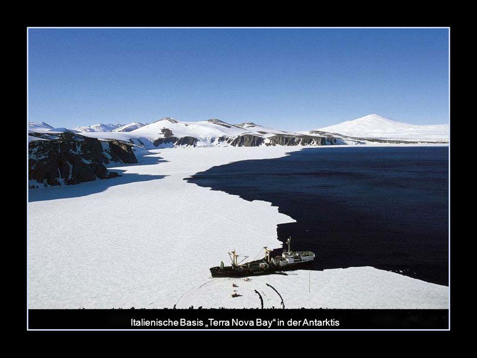 Italienische Basis Terra Nova Bay in der Antarktis
