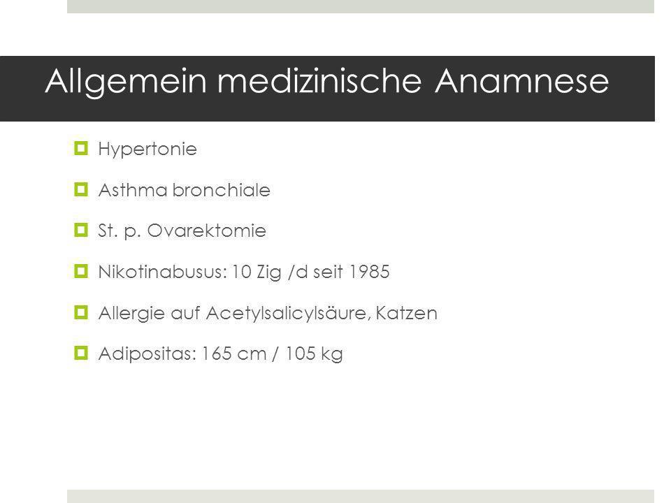 Hypertonie Asthma bronchiale St.p.