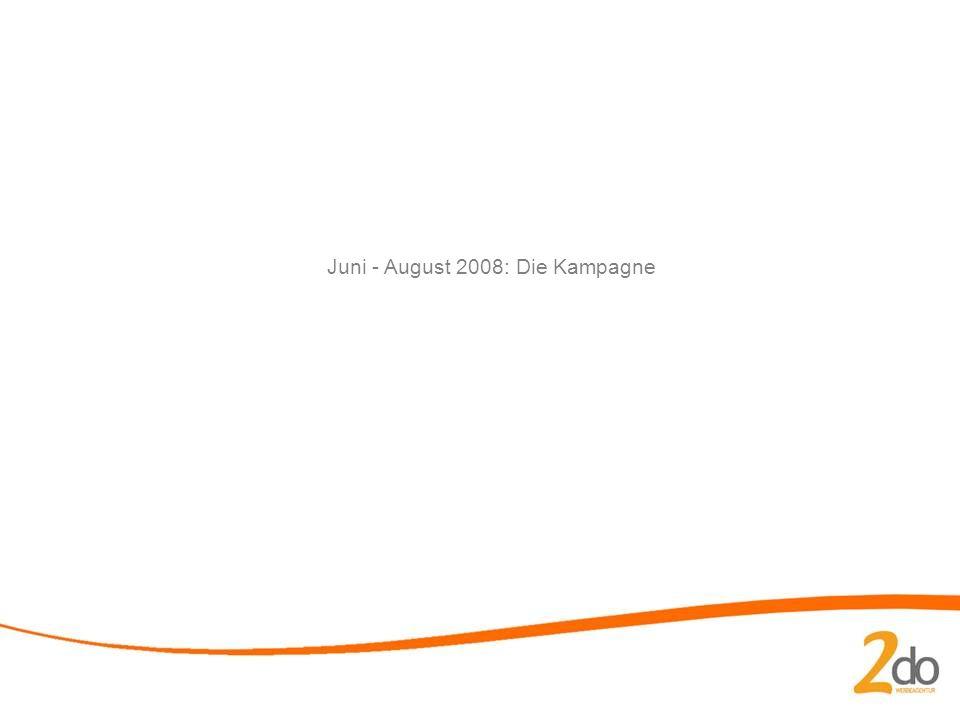 Juni - August 2008: Die Kampagne