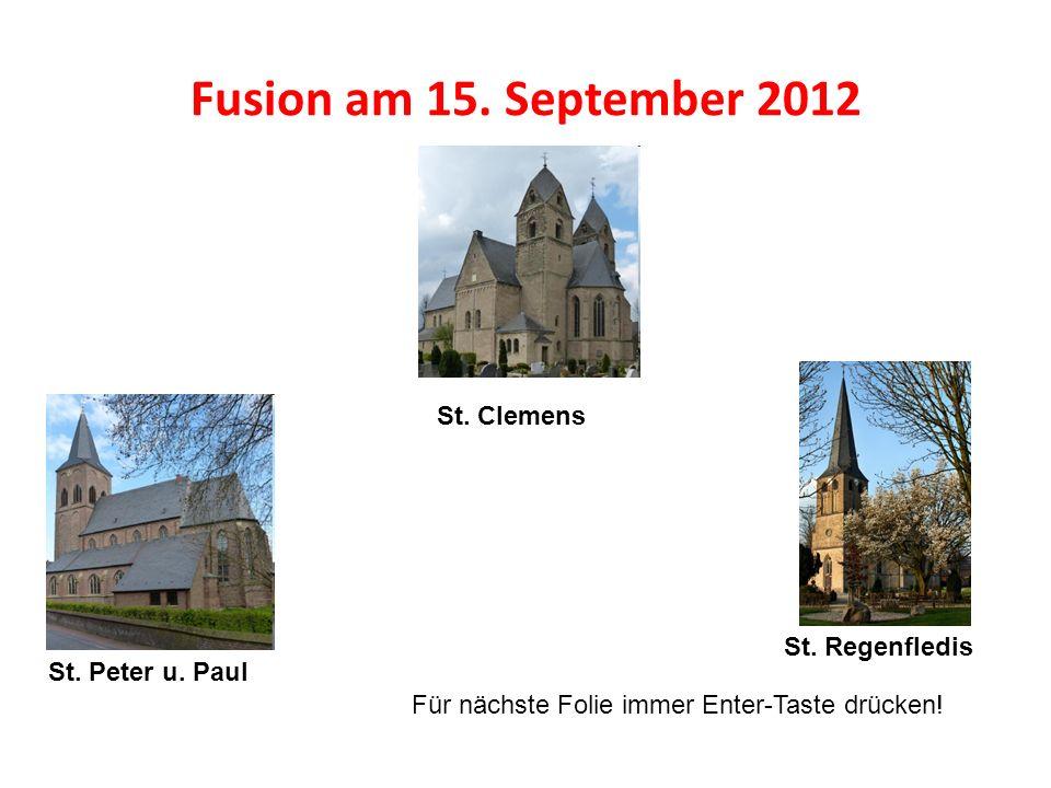 Fusion am 15.September 2012 St. Clemens St. Peter u.