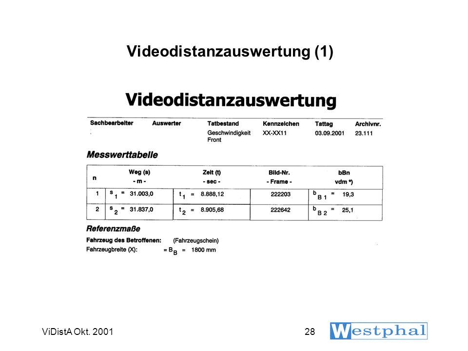 ViDistA Okt. 200128 Videodistanzauswertung (1)