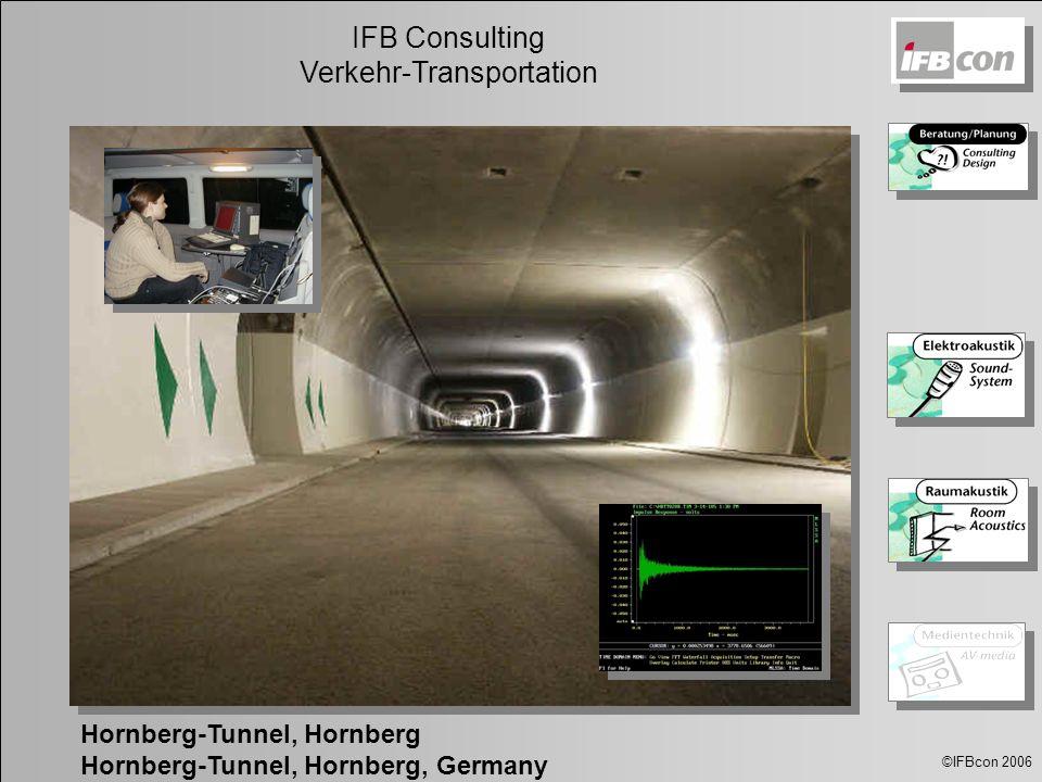 ©IFBcon 2006 IFB Consulting Verkehr-Transportation Hornberg-Tunnel, Hornberg Hornberg-Tunnel, Hornberg, Germany