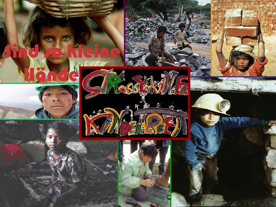 Kinderarbeit in Bolivien Weltweit: 126 Mio.