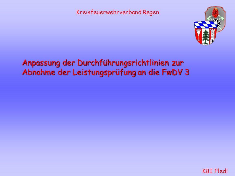 FwDV 3 Feuerwehr- Dienstvorschrift 3 Stand 2005 Einheiten im Löscheinsatz Kreisfeuerwehrverband Regen KBI Pledl Aufgaben der Mannschaft: rettet, bring