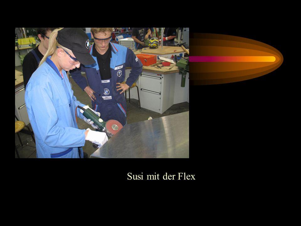 Susi mit der Flex