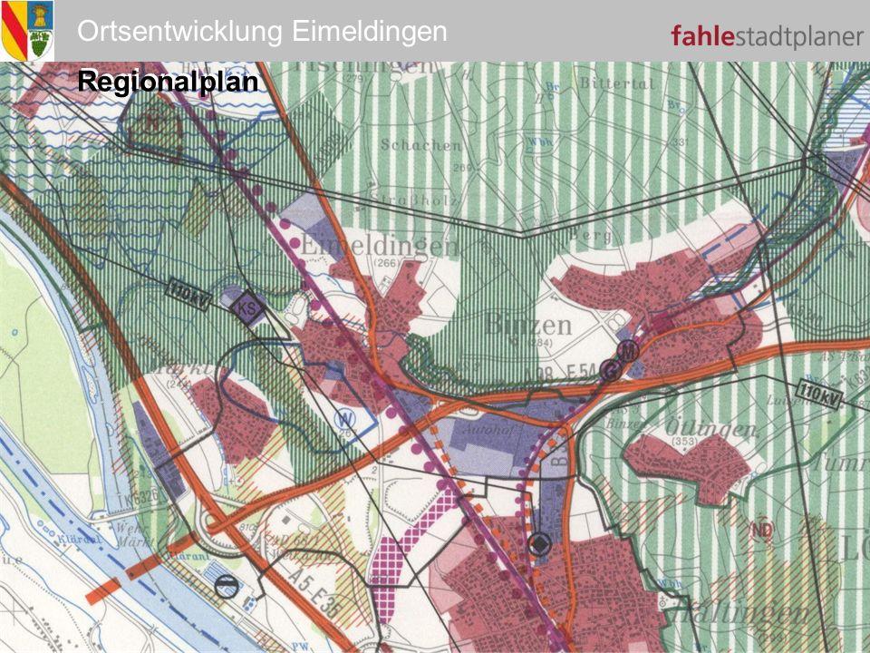 Ortsentwicklung Eimeldingen Regionalplan
