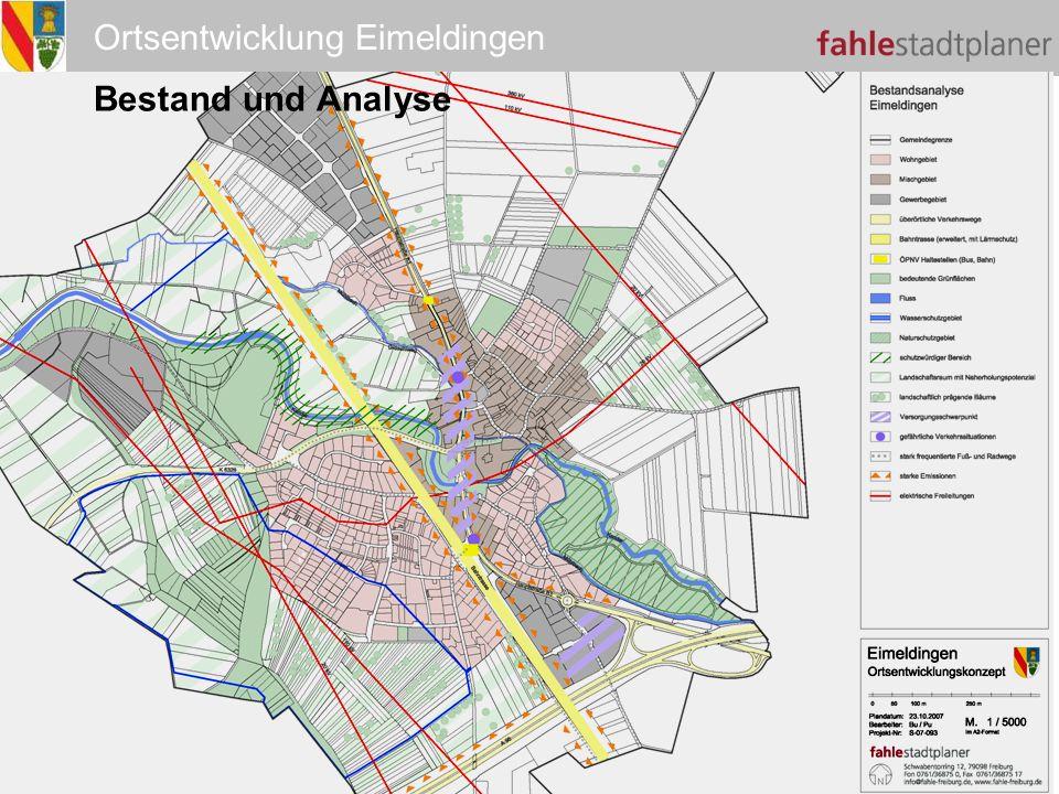 Ortsentwicklung Eimeldingen Bestand und Analyse
