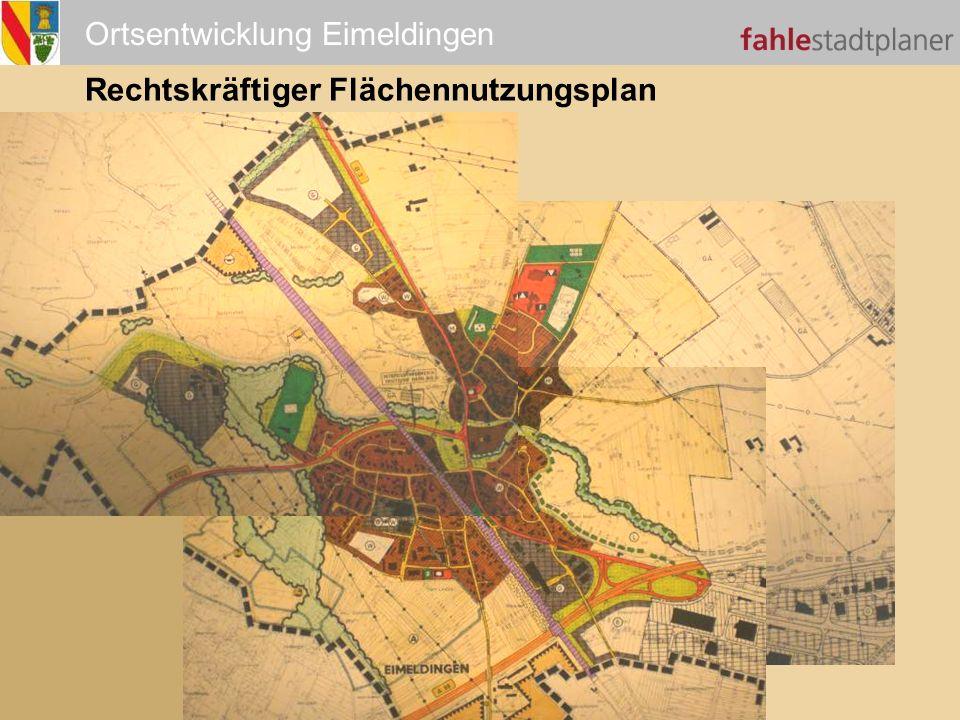 Ortsentwicklung Eimeldingen Rechtskräftiger Flächennutzungsplan