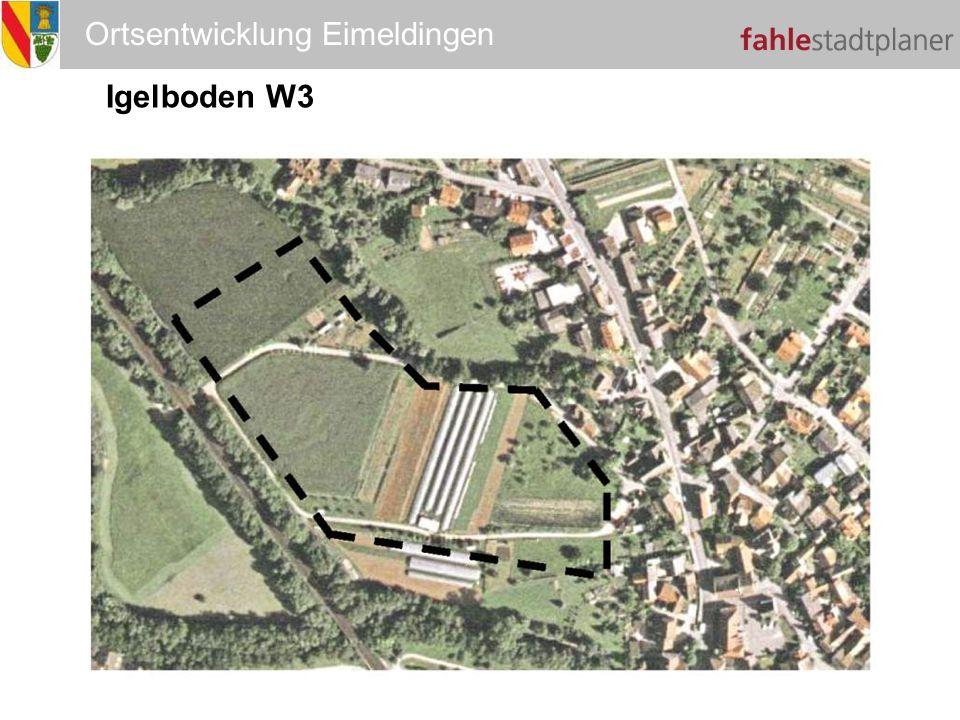 Ortsentwicklung Eimeldingen Igelboden W3 W3
