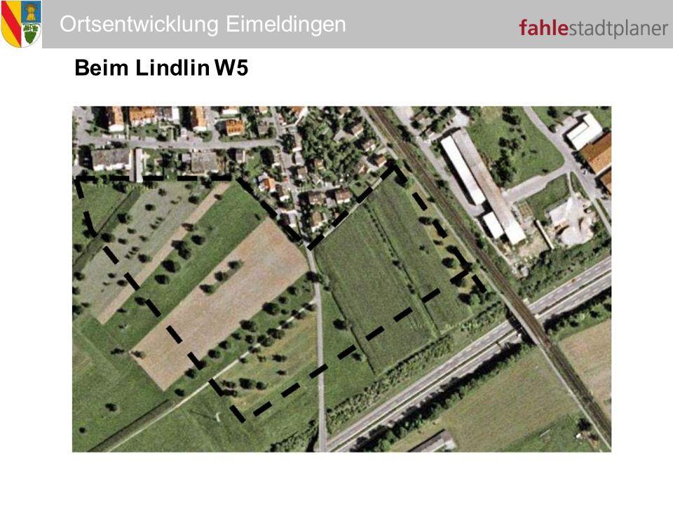 Ortsentwicklung Eimeldingen Beim Lindlin W5 W5
