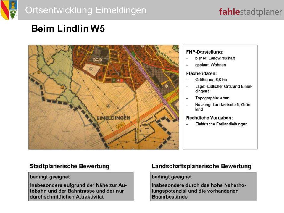 Ortsentwicklung Eimeldingen Beim Lindlin W5