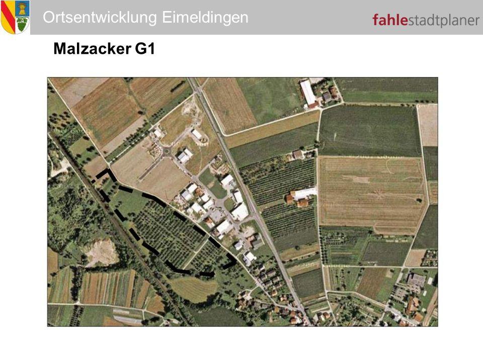 Ortsentwicklung Eimeldingen Malzacker G1 G1