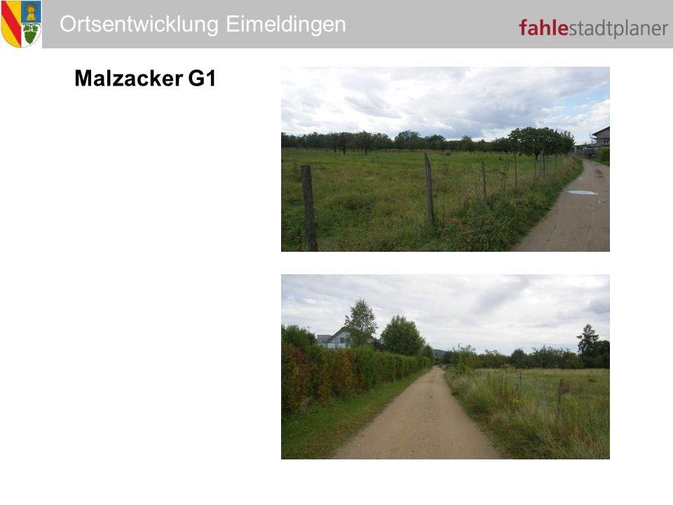 Ortsentwicklung Eimeldingen Malzacker G1