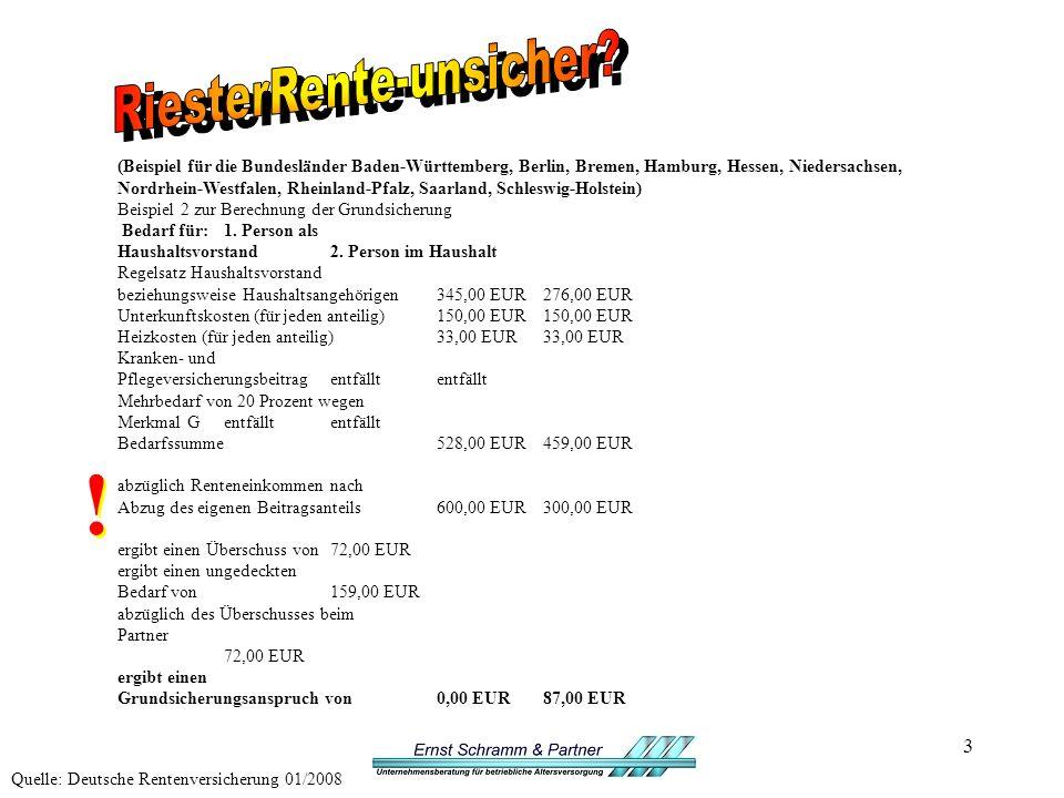 3 (Beispiel für die Bundesländer Baden-Württemberg, Berlin, Bremen, Hamburg, Hessen, Niedersachsen, Nordrhein-Westfalen, Rheinland-Pfalz, Saarland, Schleswig-Holstein) Beispiel 2 zur Berechnung der Grundsicherung Bedarf für:1.