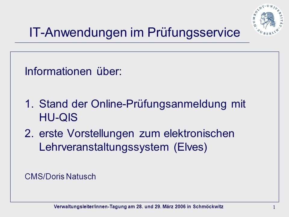 Verwaltungsleiter/innen-Tagung am 28. und 29.